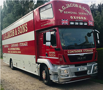 Removals Vehicle